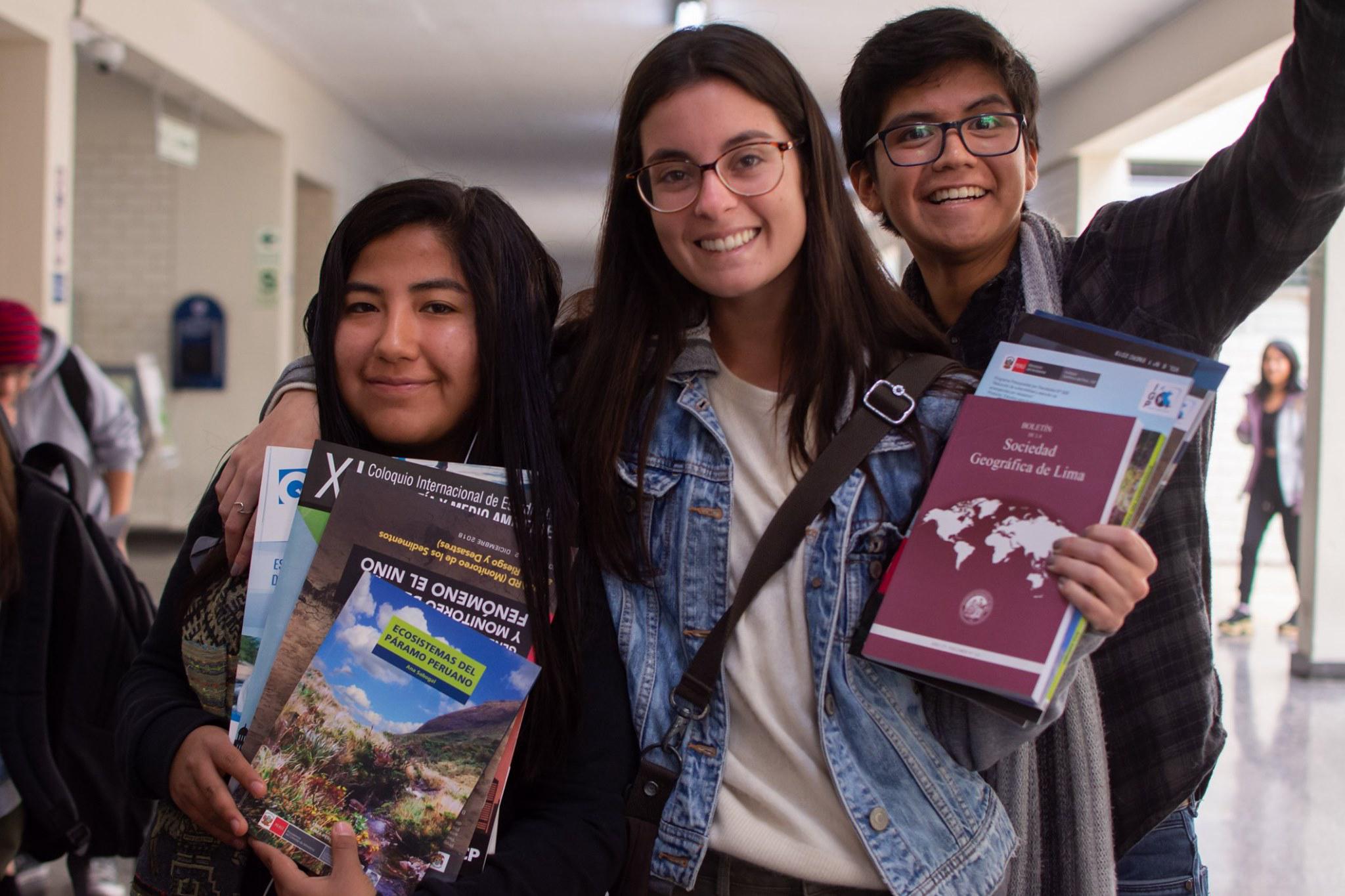 XI Coloquio Internacional de Estudiantes de Geografía y Medio Ambiente (2019-1) [fotos]