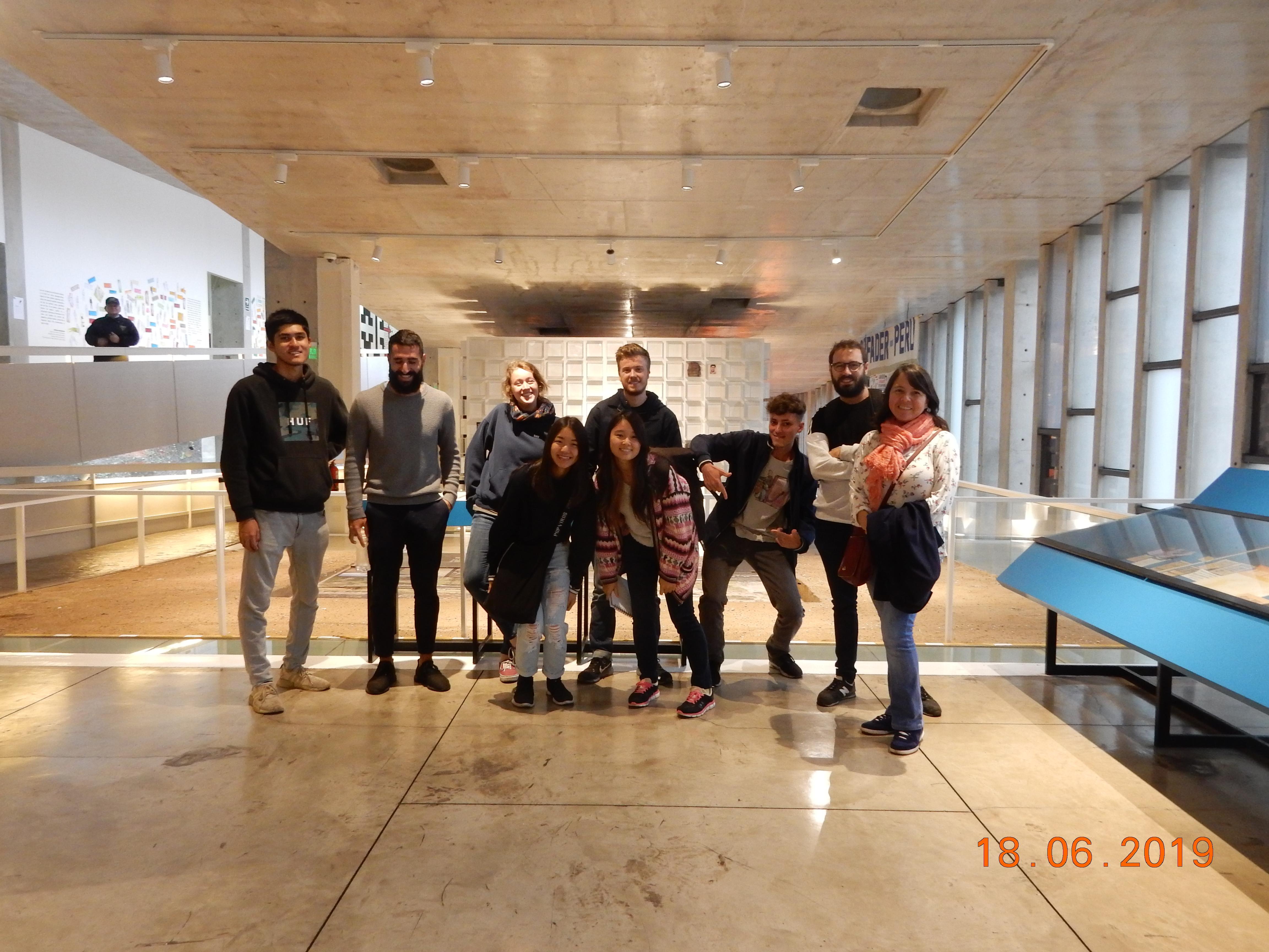 Programa de Español para Estudiantes Extranjeros: salidas de campo (2019-1)  [fotos]