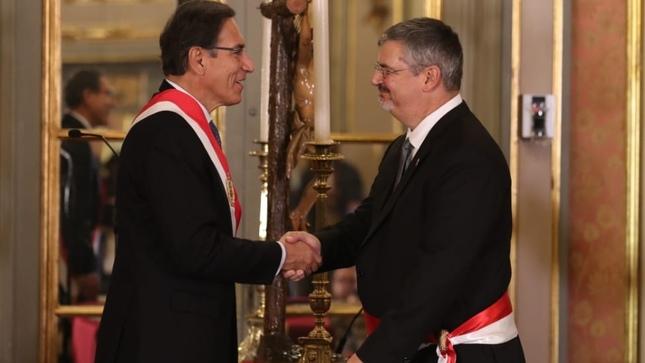 Juramentación de Luis Jaime Castillo Butters como ministro de Cultura [video]