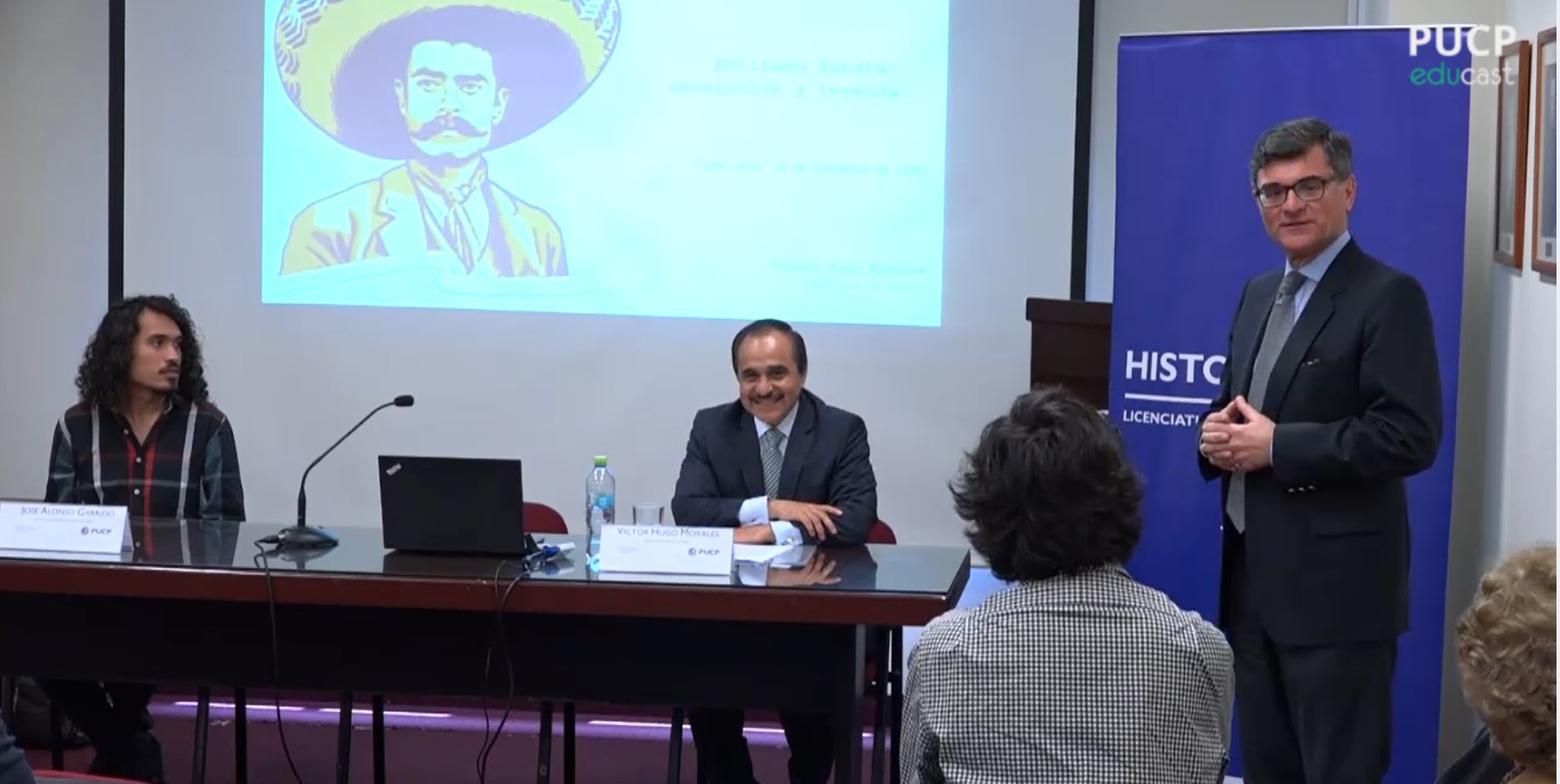 "Conferencia: ""Emiliano Zapata: revolución y leyenda"" [video]"