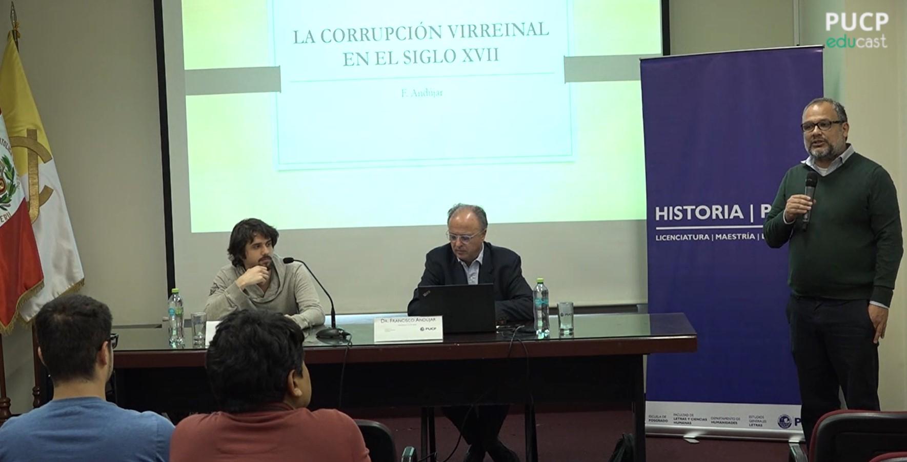 Conferencia: La corrupción virreinal en el siglo XVII: problemas de metodología y fuentes [video]