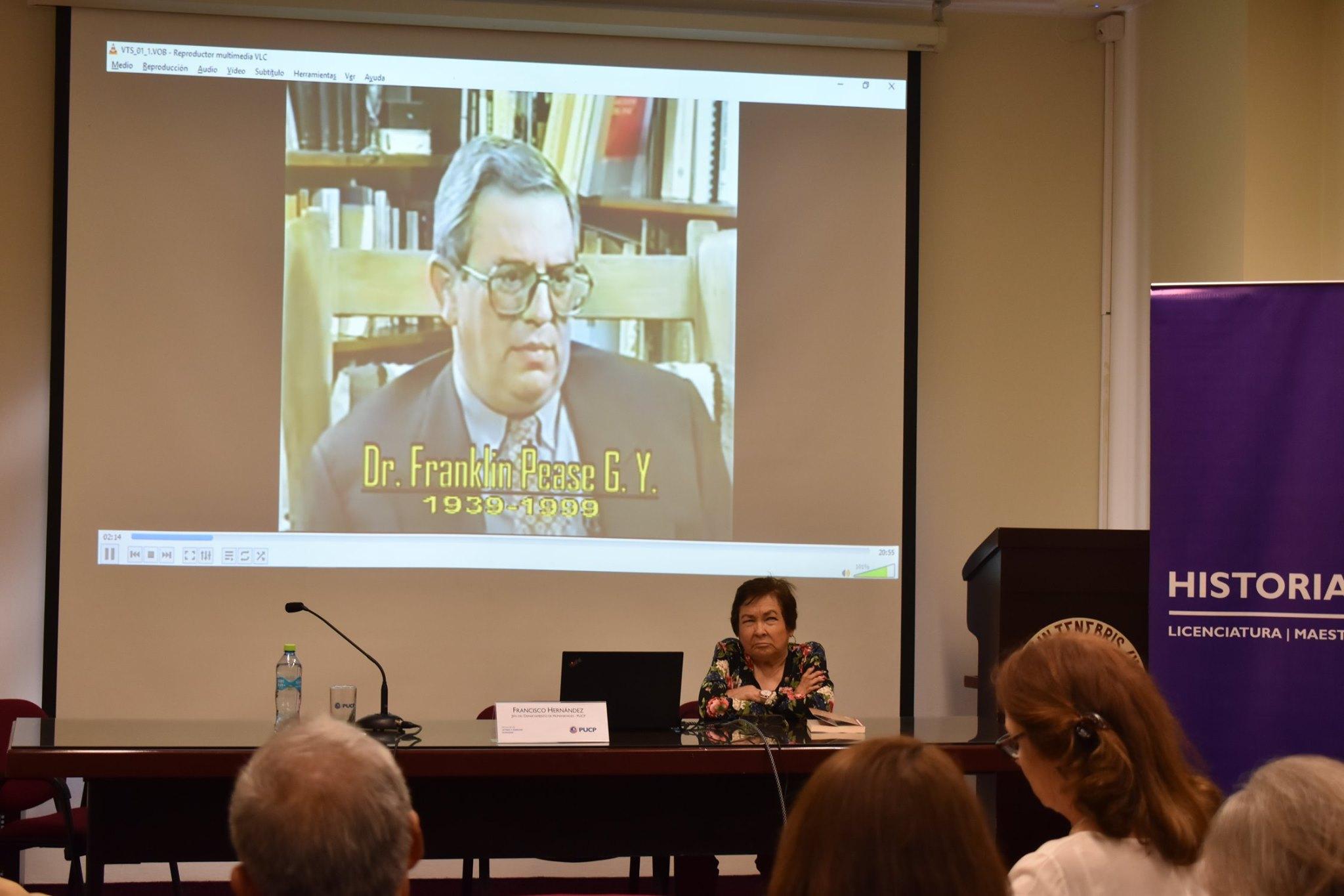 Coloquio conmemorativo: Presencia de Franklin Pease García Yrigoyen [fotos]