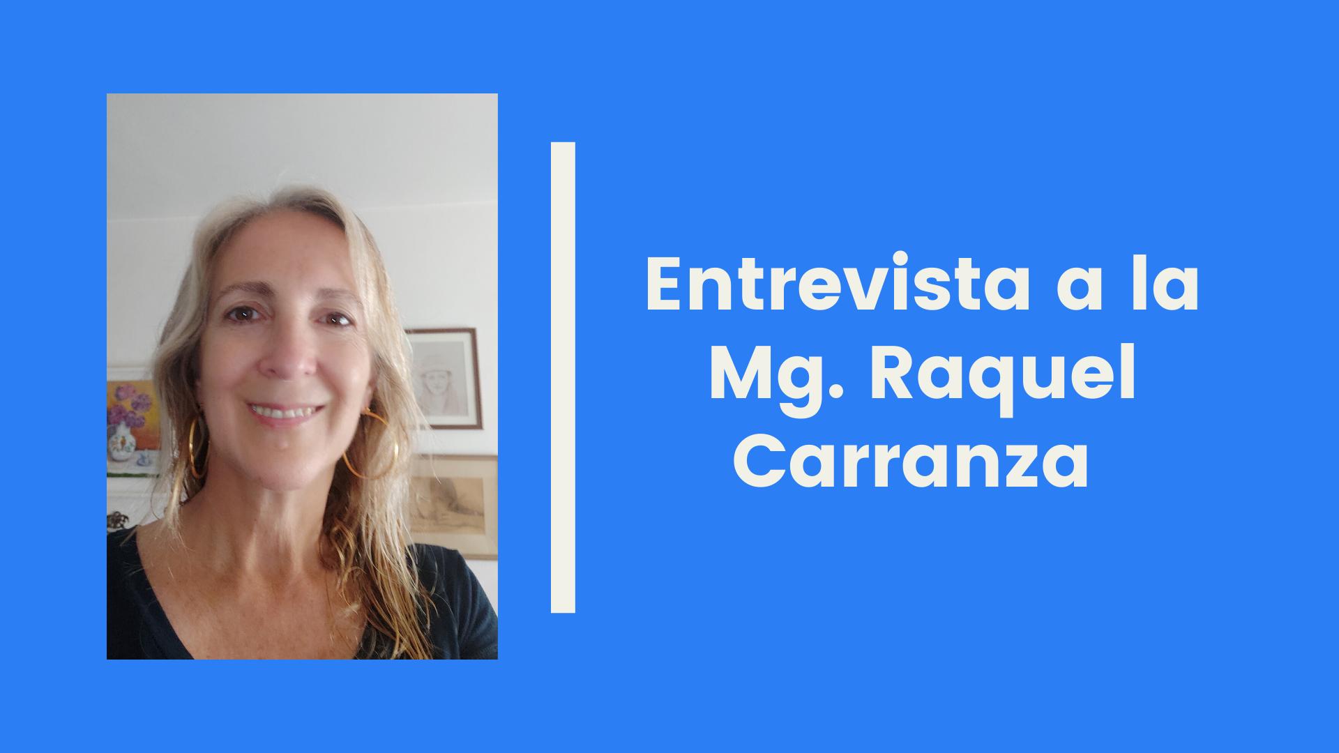 I Encuentro ELE PUCP | Entrevista a la Mg. Raquel Carranza (Universidad Nacional de Córdoba, Argentina)