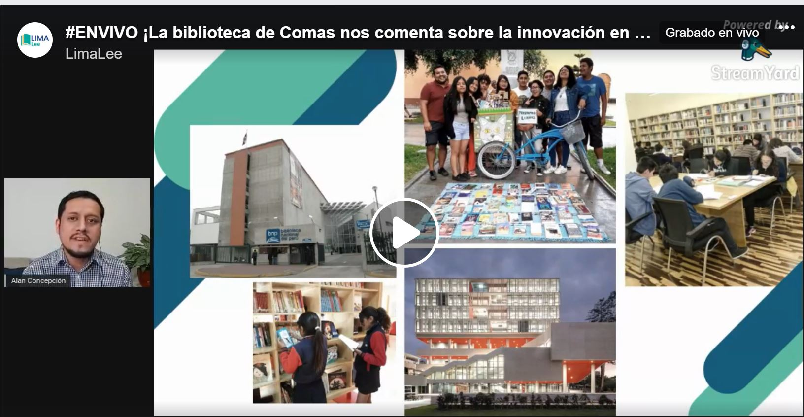 """Conversatorio: """"Bibliotecas comunales: desafíos frente a la nueva normalidad"""" [video]"""
