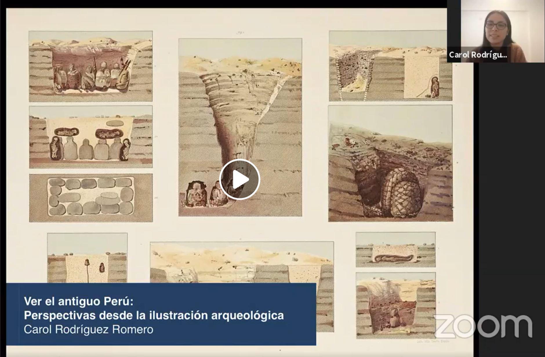 Ciclo virtual de charlas arqueológicas 2020-1 [videos]
