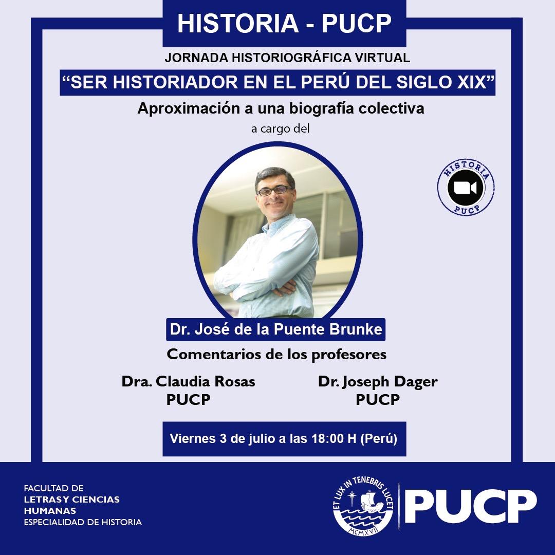 """Jornada Historiográfica: """"Ser historiador en el Perú del siglo XIX. Aproximación a una biografía colectiva"""" [video]"""