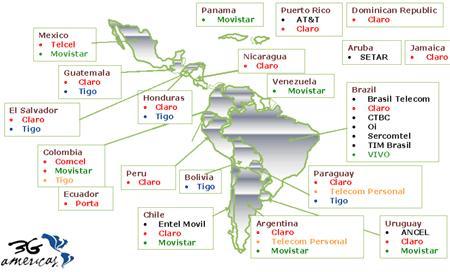 HSDPA en América Latina