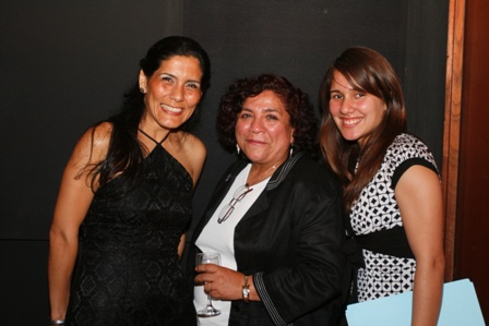 Pamela Cueto, Carmen Rodríguez y Silvana Jimenez