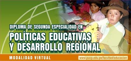 Políticas Educativas y Desarrollo Regional
