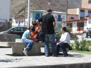 Turistas en Antioquía