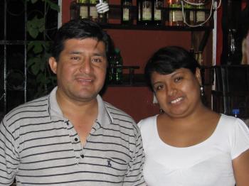 Jose Fernandez y Magaly Ormeño