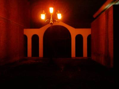 cementerio de noche