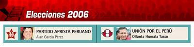 Elecciones Presidenciales 2006 - Segunda Vuelta