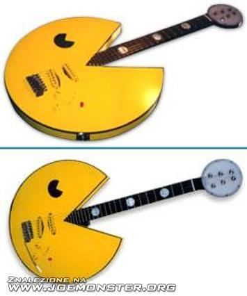 pacman guitar