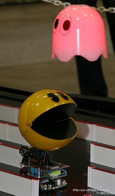 Pacman Robots