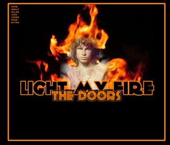 cancion light my fire: