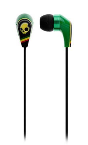 2011 50/50 RASTA buds Skullcandy earphones