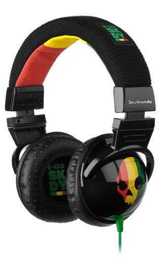 2011 HESH RASTA Skullcandy headphones