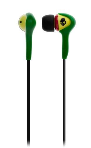 2011 SOKIN BUDS RASTA Skullcandy earphones
