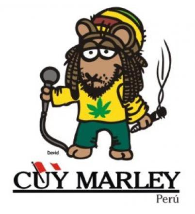 Cuy Marley - Sticker