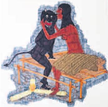 Virgilio Bermedo (aguaruna) - La mujer que mordió la oreja del diablo