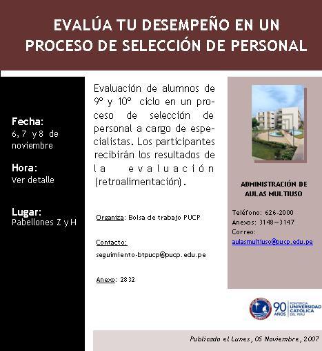 Programa de evaluación de desempeño