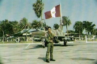 Piloto FAP Hilario Valladares