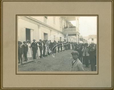 Jalapato en la Plaza de Jauja