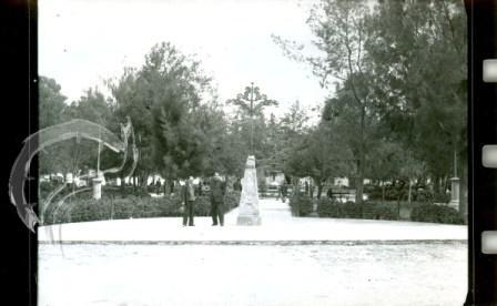 Pila de Piedra en la Plaza de Armas de Jauja