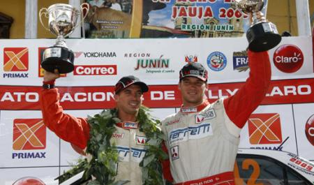 Fuchs ganó en Jauja, Perú