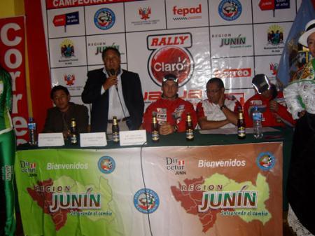 Presentacion del Rally Jauja