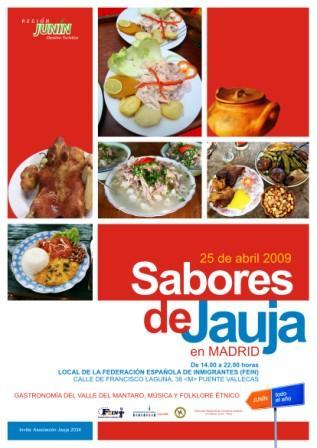 Sabores de Jauja en Madrid