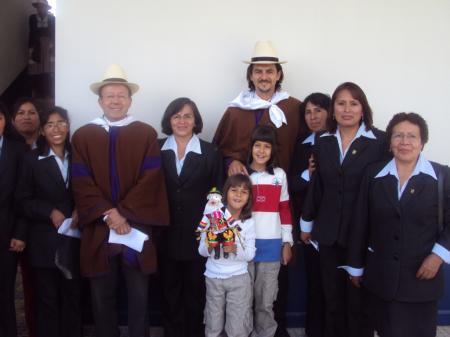 Españoles en el San José de Jauja