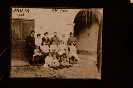 Familia Álvarez-Calderón Olavegoya en Jauja