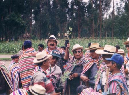 Traída de Monte del Barrio Huarancayo