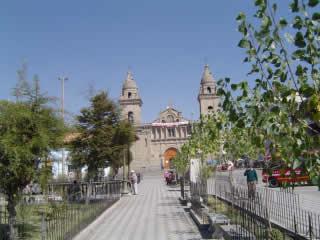 Plaza de Armas de Jauja