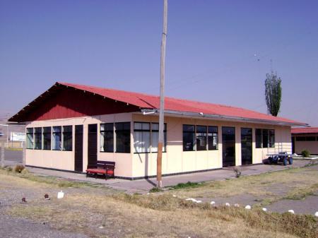 Frontis del aeropuerto de Jauja