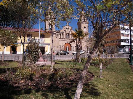 Plaza de Jauja - Fernando Guerrero
