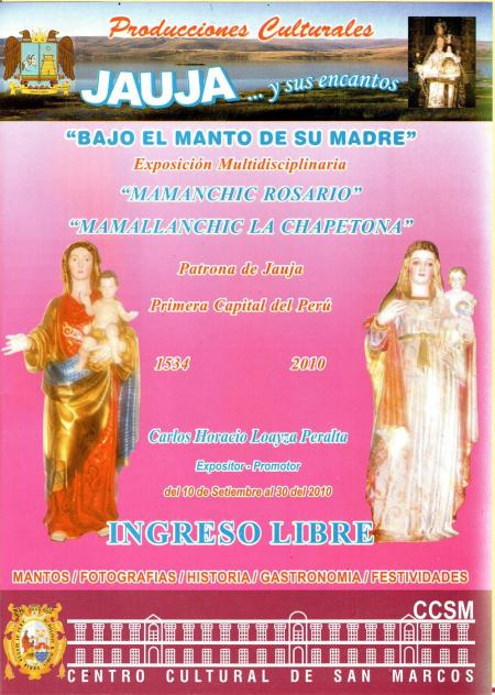 Virgen del Rosario Jauja