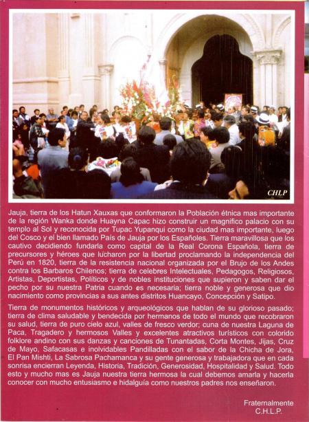 Virgen del Rosario de Jauja