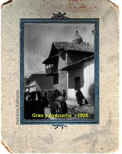 Esquina Jiron Grau y Ayacucho en Jauja