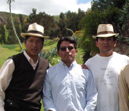 Marx Espinoza y Dario Núñez