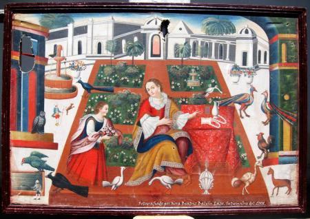 Lienzo: La Conversión de María Magdalena