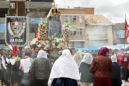 Procesión de la Virgen Chapetona