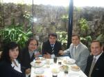Con colegas de Brasil y Ecuador