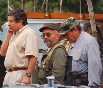 """""""Raúl Reyes"""" y """"Tirofijo"""", capos de la organización terrorista FARC"""