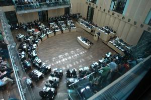 El Bundesrat o Consejo Federal, la Cámara Alta del Parlamento Alemán