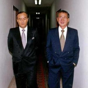 Montesinos y Fujimori, caminando juntos