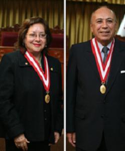 Greta Minaya y Ulises Montoya, nuevos miembros del Pleno del JNE, llevan nuevos aires democráticos a dicho organismo. Fuente: www.jne.gob.pe