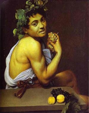"""""""Baco enfermo"""" (1593-1594"""